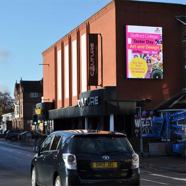 Digital Billboard Advert - Stafford