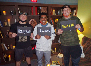 They escaped....sort of...