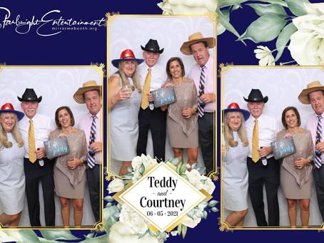 Congratulation to Teddy & Courtney