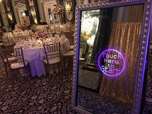 Image of Photo Booth at a wedding.