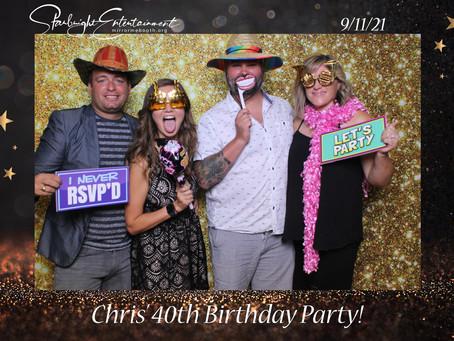 Happy 40th Birthday to Chris!