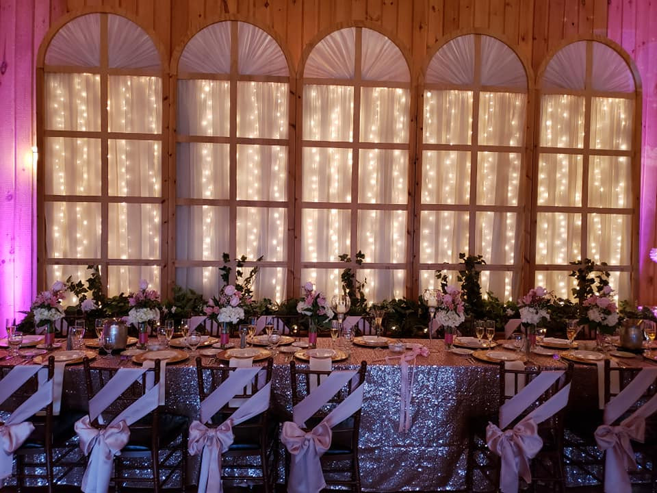 picture of the head table