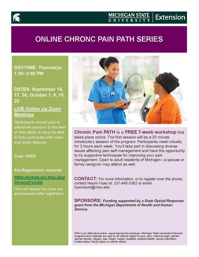 FREE Chronic Pain PATH series