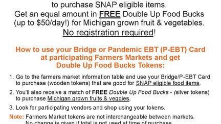 Use your Bridge or Pandemic EBT