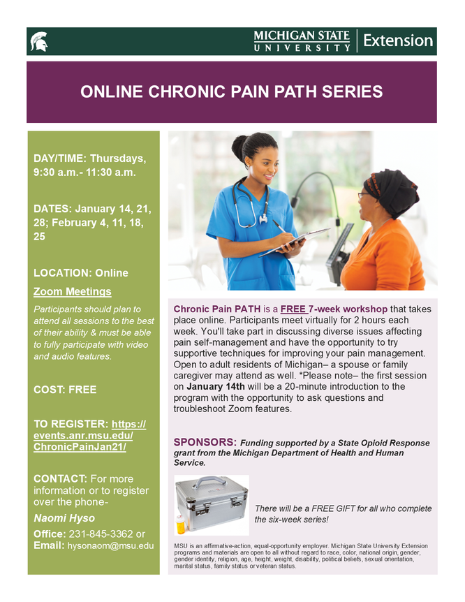 Chronic Pain PATH Series