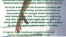 Tai Chi for Arthritis and Falls Prevention