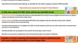 ATTENTION MICHIGAN PANDEMIC EBT RECIPIENTS