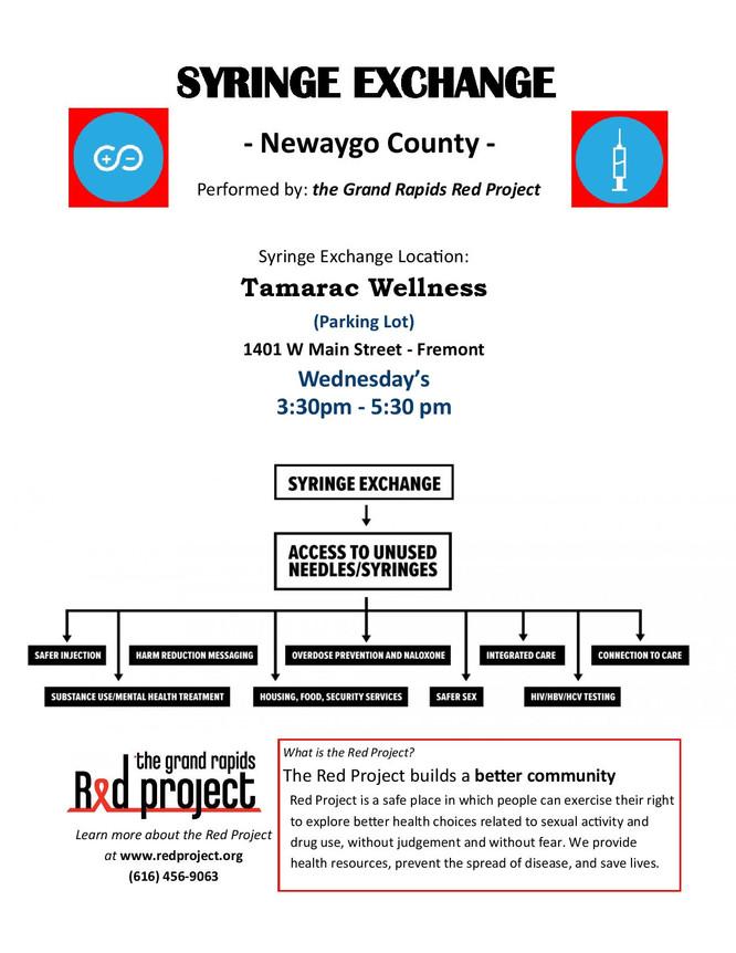 Newaygo County Syringe Exchange