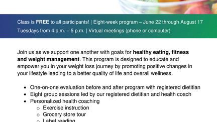 Fit 4 U Weight Management Program
