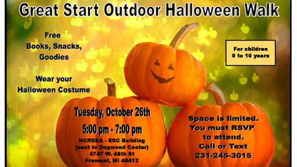Great Start Collaborative: Halloween Walk