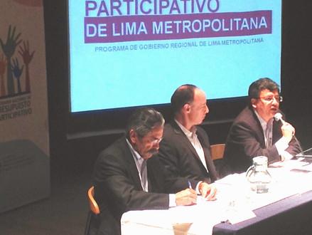 Situación del presupuesto participativo en Perú: Avances y desafíos