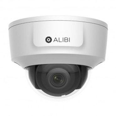 ALIBI 4K 8.0 MEGAPIXEL 100' IR H.265 HDMI INDOOR FIXED DOME NETWORK CAMERA