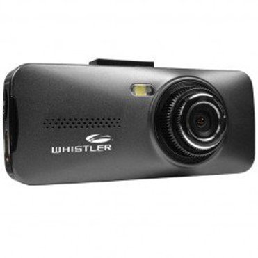 Whistler 720p HD Windshield Mount Dash Camera with DVR