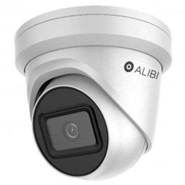 ALIBI CLOUD 6MP STARLIGHT 120' IR H.265+ IP TURRET CAMERA