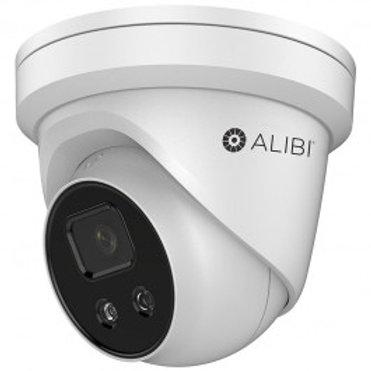 ALIBI 4MP STARLIGHT 165' IR SMARTSENSE IP H.265+ TURRET CAMERA
