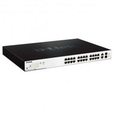 D-Link Smart Managed 26-Port Gigabit PoE Switch