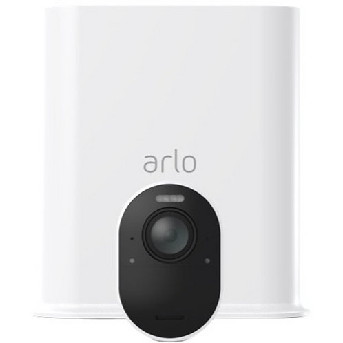 ARLO 4K UHD WIRE FREE 2 CAM KIT. IN/OUTDOOR SECURITY CAMS W/ COLOR NIGHT VISION.
