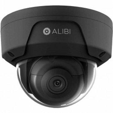 ALIBI 6 MP STARLIGHT 120' IR H.265+ OUTDOOR DOME IP SECURITY CAMERA