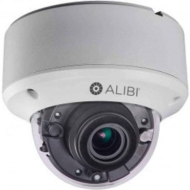 ALIBI 8MP HD-TVI/AHD/CVI/CVBS 200' IR VARIFOCAL DOME SECURITY CAMERA