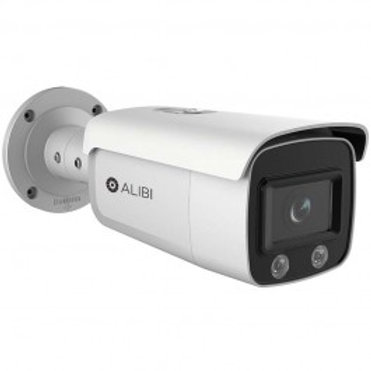 ALIBI 4MP ILLUMINITE 100' WHITE LIGHT H.265+ IP BULLET CAMERA