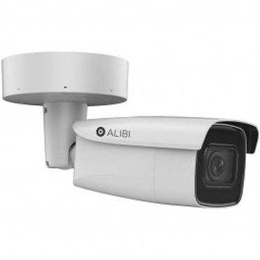 ALIBI CLOUD 6MP 170' IR H.265+ IP VARIFOCAL BULLET CAMERA
