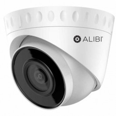 ALIBI 4MP 100' IR IP TURRET CAMERA