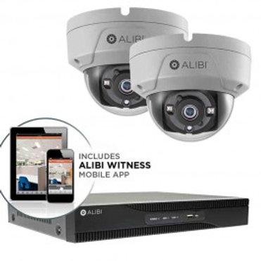 HD-TVI Security Camera, System - 2-Camera, 2.1 Megapixel, 65' IR, Hybrid+, Vanda