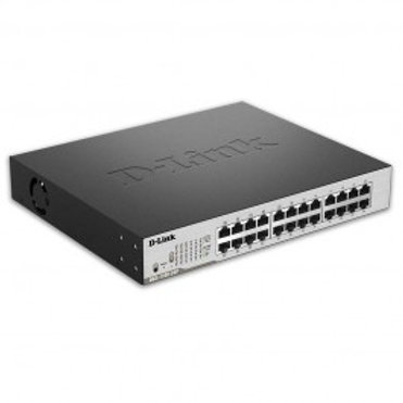 D-Link EasySmart 24-Port Gigabit PoE Switch