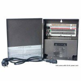 18-Channel 12 Vdc 10 Amp UL-Listed Power Supply Box