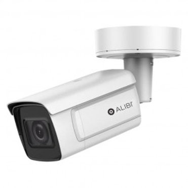 ALIBI 4MP STARLIGHT 165' IR VARIFOCAL WDR BULLET IP CAMERA
