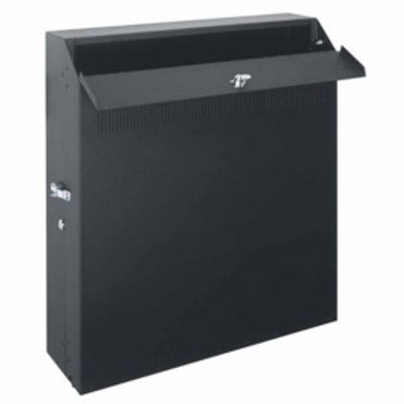"Middle Atlantic WRS-8 Rack - 15 5/8"" D X 29"" H low-profile, wall mount"