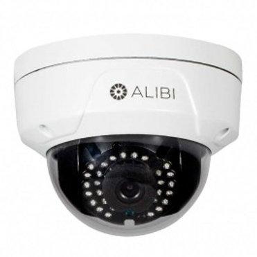 ALIBI 4MP 65' IR VANDALPROOF WDR OUTDOOR DOME IP SECURITY CAMERA