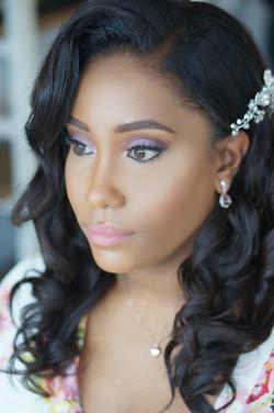 Black makeup artist & hairstylist