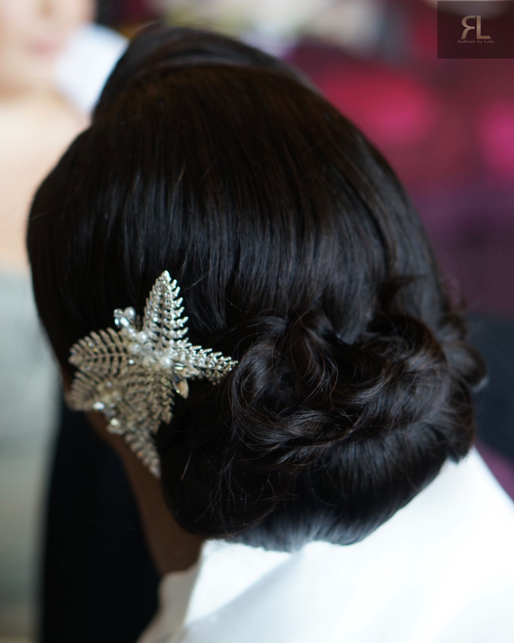 Black bridal hairstylist London