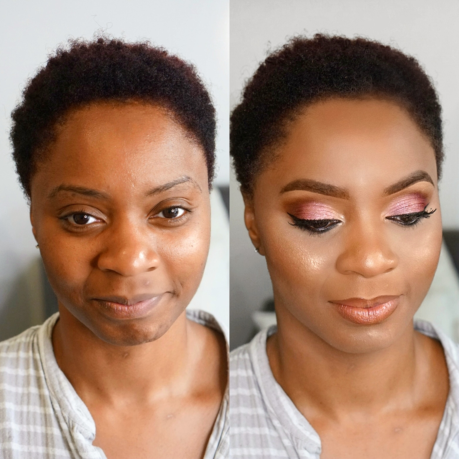 Makeup Artist London | Black Wedding Makeup | Hertfordshire