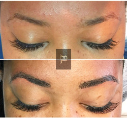 Semi Permanent Eyebrows Hatfield
