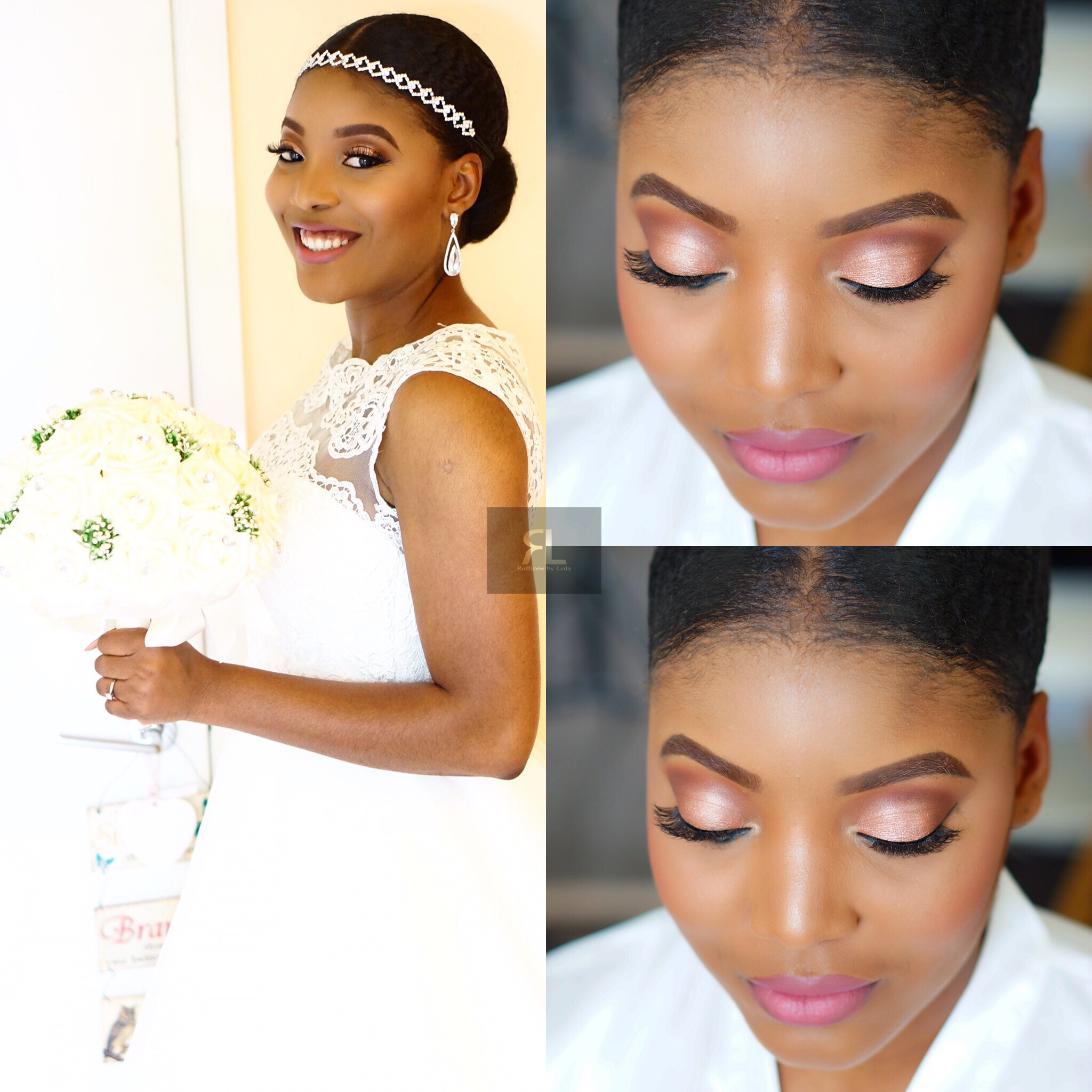 Black bridal makeup artist London
