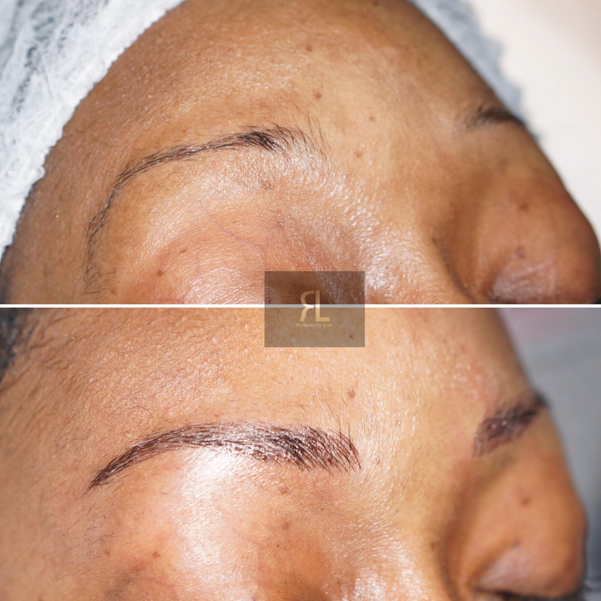 Cosmetic eyebrow tattoo Hatfield