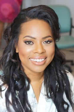 Bridal Hair & Makeup for black skin