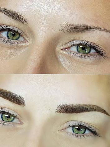 Microbladed eyebrows Hatfield Hertfordsh