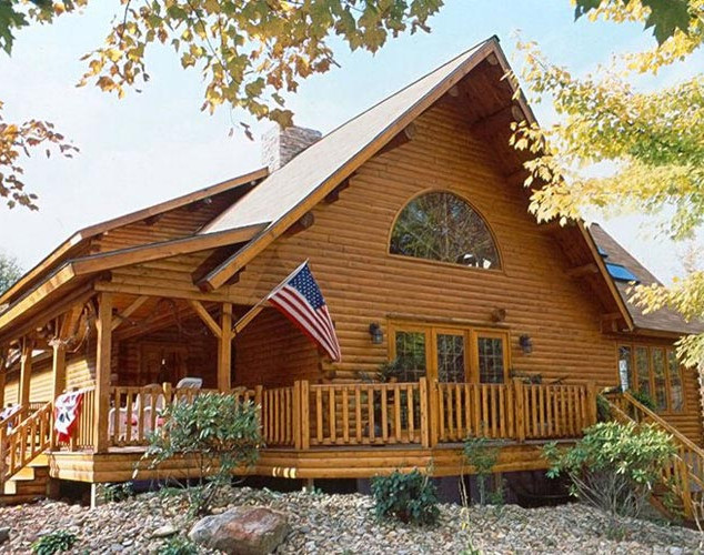 Log-Home-Exterior-Side-Rural-Pennsylvani