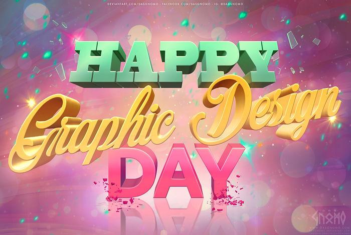 Happy Graphic Design day 2020 by DasGnom