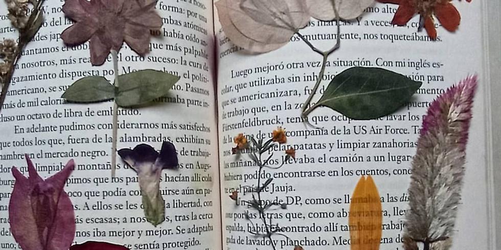 Taller de Flores Prensadas
