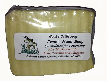 Jewelweed Extract Spritzer & Goat's Milk Soap COMBO Pack