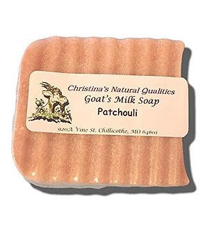 CNQ Goat's Milk Soap- Patchouli
