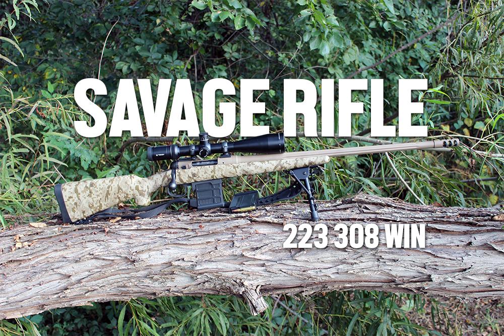 Savage Rifle 223 308 Win NGRA