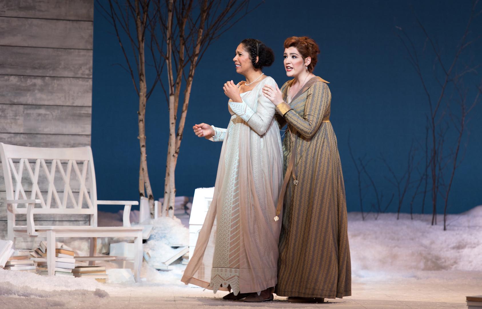 Eugene Onegin, Curtis Opera Theatre Photo: Andrew Bogard