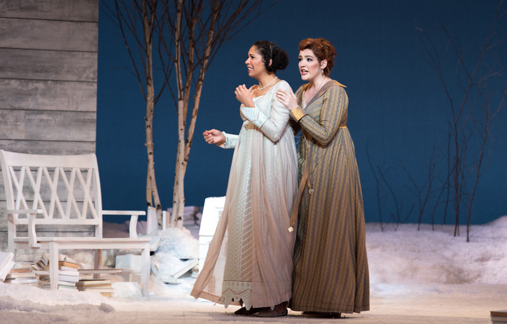 Eugene Onegin, Curtis Opera Theatre Photo: Andrew Bogard