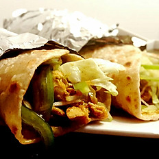 Chappali Chicken Kabab Wrap