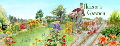Nelson's Garden (watercolor 2019)